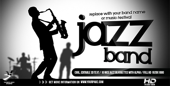 VideoHive Jazz Band Opener 1568988