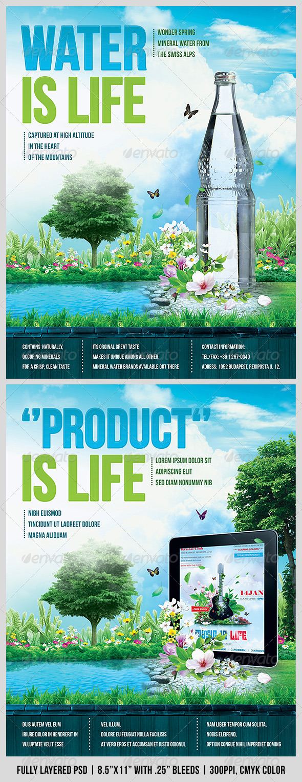GraphicRiver Advertising Flyer 1548246