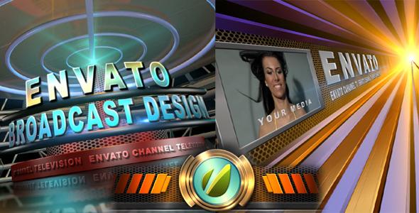 VideoHive Broadcast Design TV Channel Opener 1570497