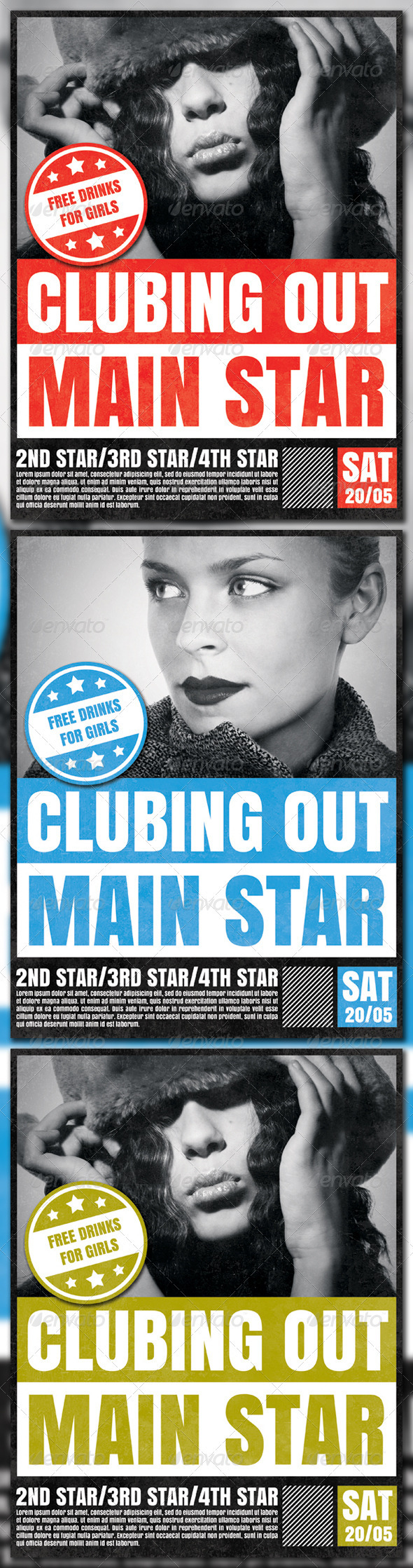 GraphicRiver Clubbing Out 1571096