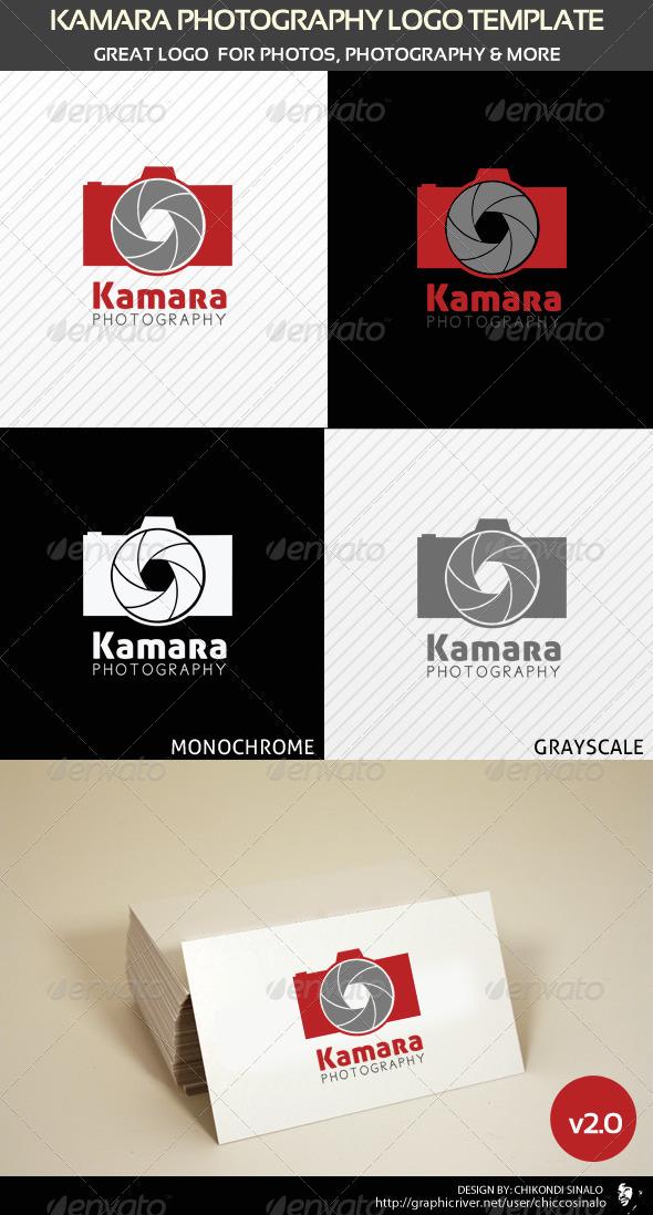 GraphicRiver Kamara Photography Logo Template v2 1571541