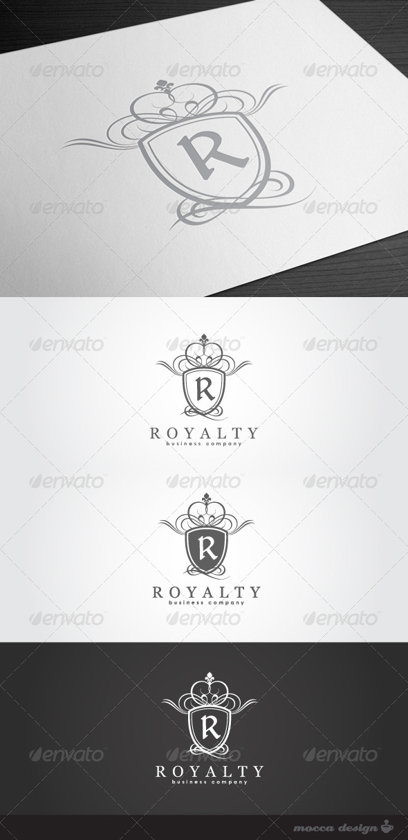 GraphicRiver Royalty Logo 1574491