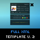 COMPLETE XML SITE // FULLSCREEN TEMPLATE V.2 - ActiveDen Item for Sale