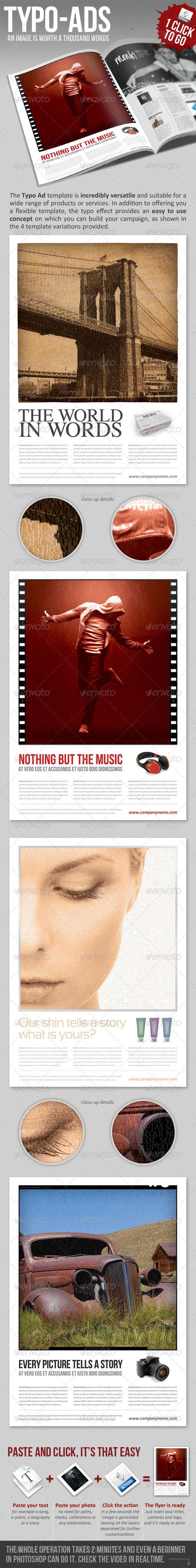 GraphicRiver Typo Ads 1574813