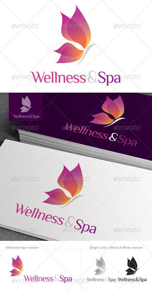 GraphicRiver Wellness & Spa Logo 1576204