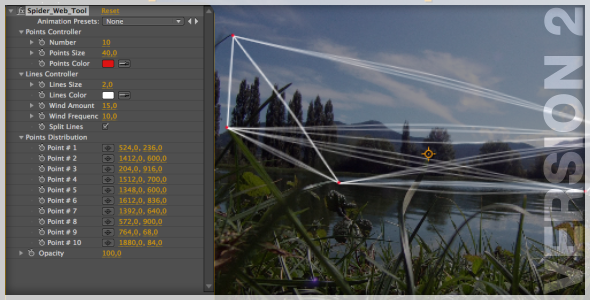 After Effects Project - VideoHive Spider Web Tool 1164696