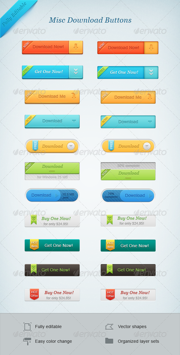 GraphicRiver Misc Download Buttons 1578899