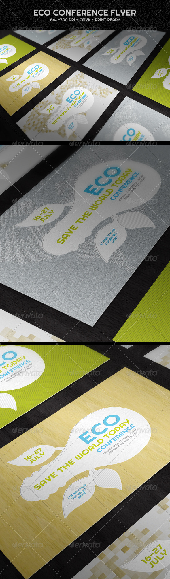 GraphicRiver Eco Conference Flyer 1579725
