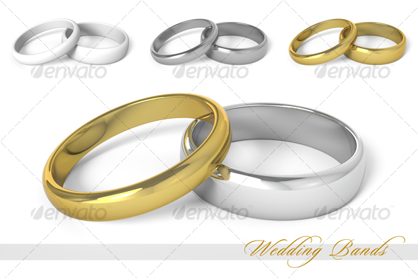 GraphicRiver Wedding Bands 62029