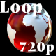 Red globe loop - VideoHive Item for Sale