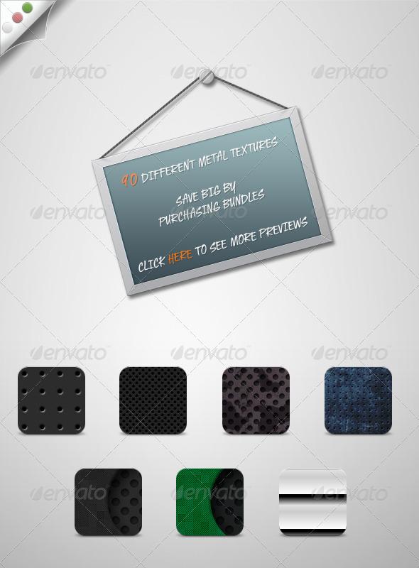 GraphicRiver Metal Textures Bundle 1583367