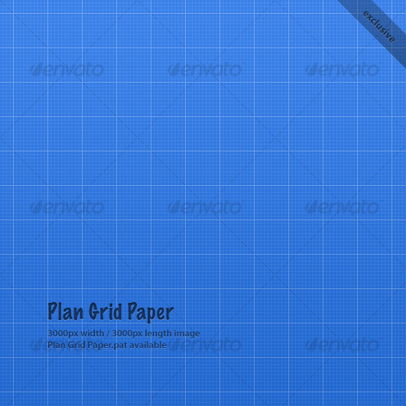 GraphicRiver Plan Grid Paper 56464