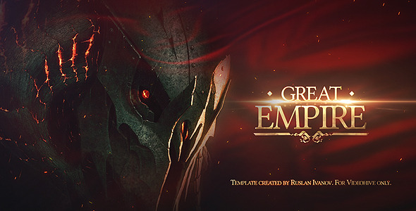 VideoHive Great Empire Opener 1585399