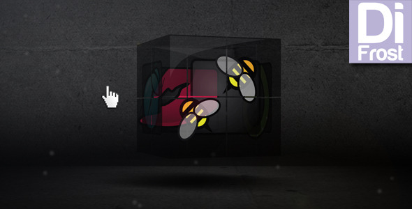 After Effects Project - VideoHive Cube presentation 1521406