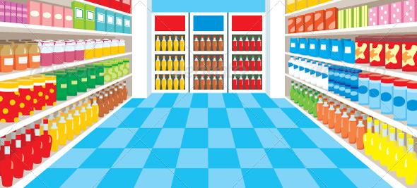 GraphicRiver Supermarket 1585646