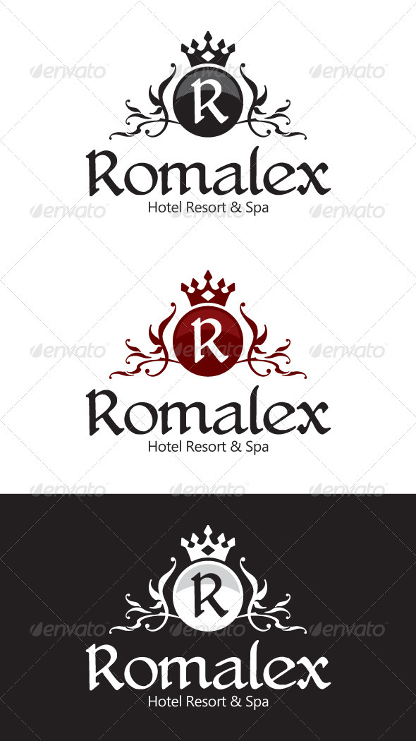 GraphicRiver Hotel Resort Logo 1586494