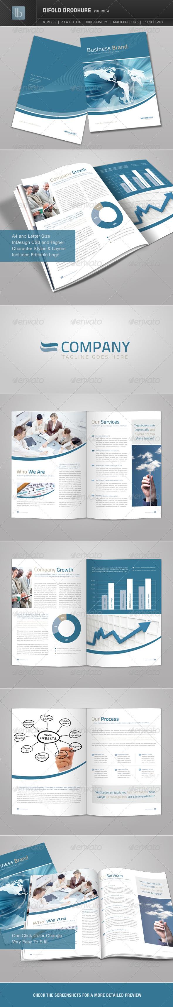 GraphicRiver Bifold Brochure Volume 4 1586607