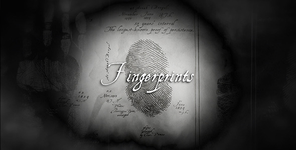 After Effects Project - VideoHive Fingerprints 1587709