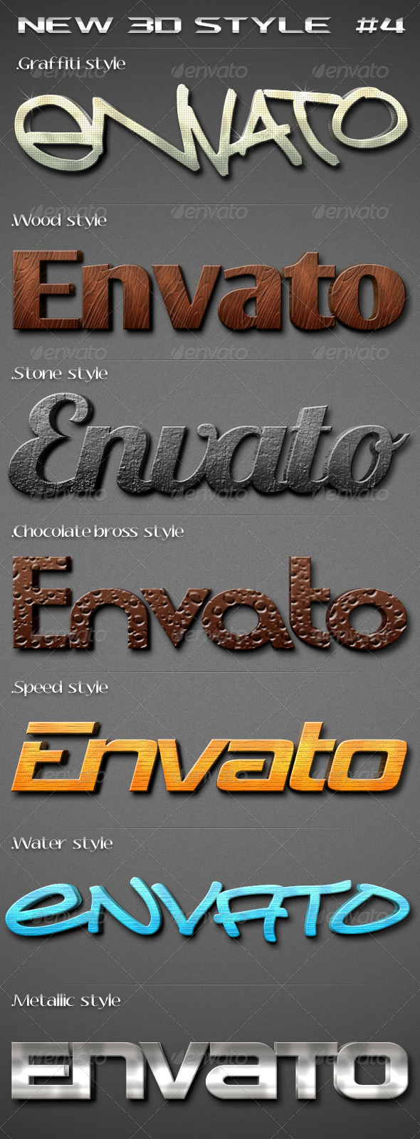 GraphicRiver New 3D Text Style 4 187164