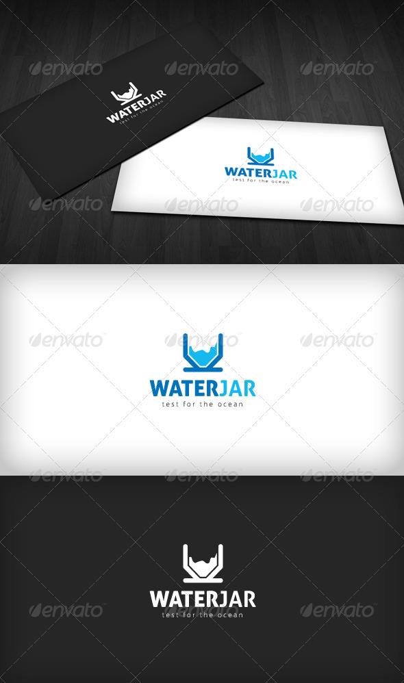 GraphicRiver Water Jar logo 1589874
