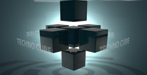 VideoHive Techno Cube 1590180