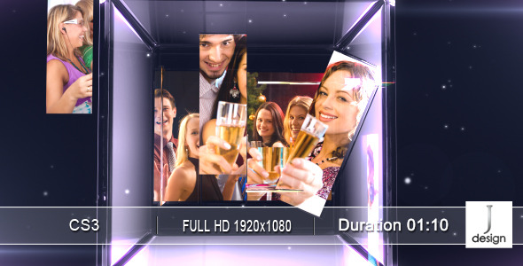After Effects Project - VideoHive GlassSpace 682944