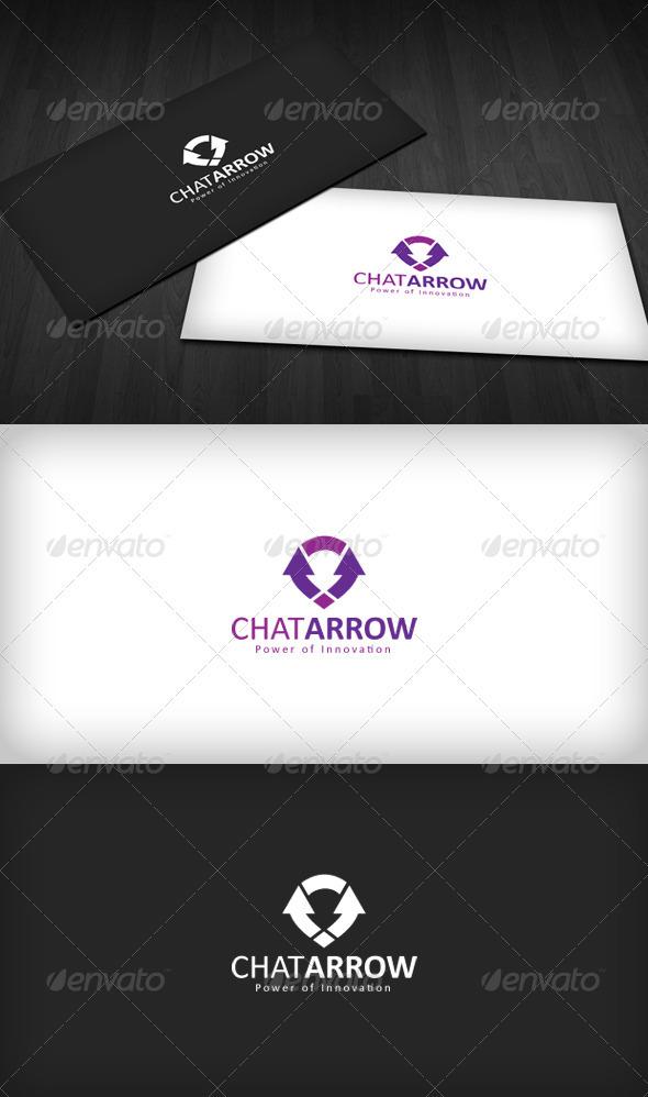 GraphicRiver Chat Arrow logo 1590510
