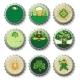 St Patrick's Day beer bottle caps set - GraphicRiver Item for Sale