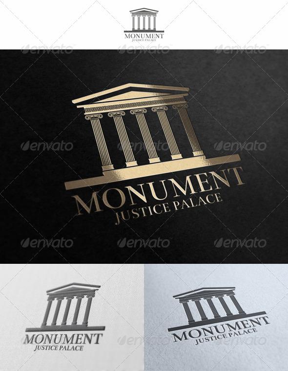 GraphicRiver Monument Logo Template 1591948