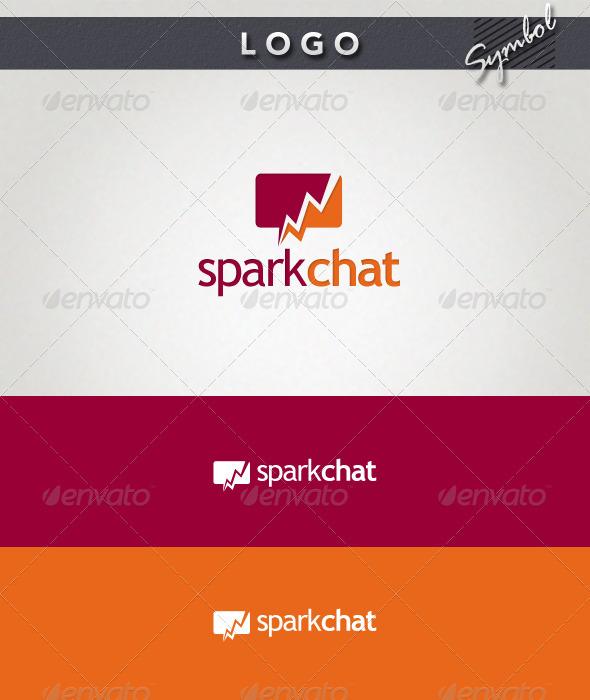 GraphicRiver Spark Chat Logo 1592520