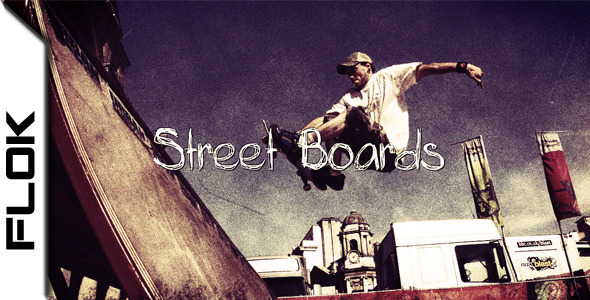 VideoHive Street Boards 1594646