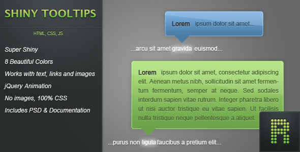 CodeCanyon Shiny Tooltips 160202