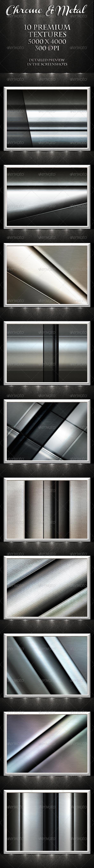 GraphicRiver Chrome & Metal Textures 1596126
