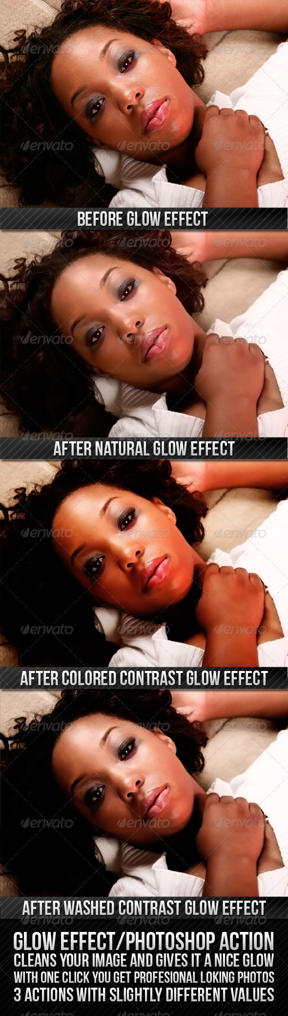 GraphicRiver GLOW EFFECT 235798