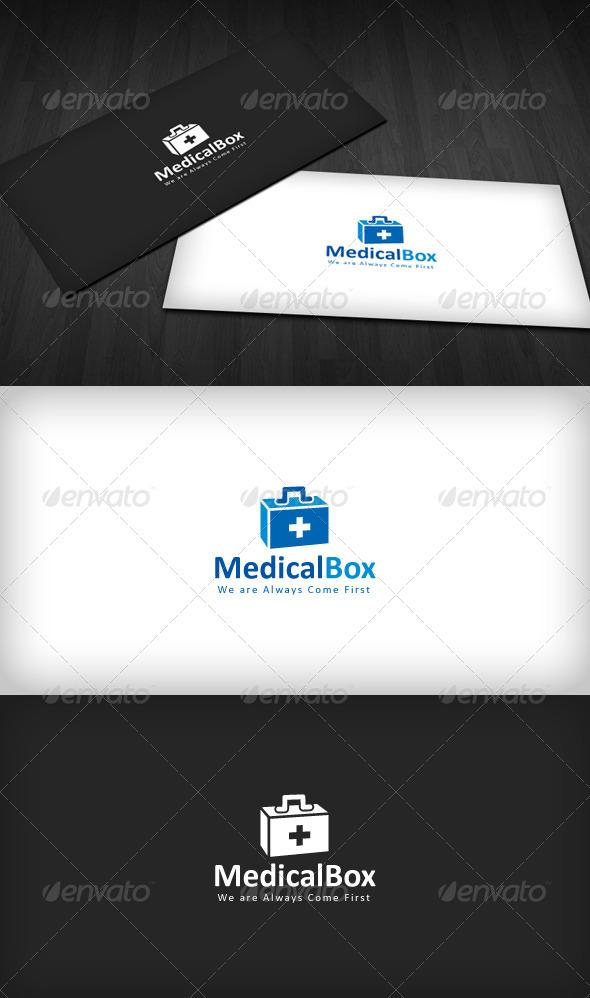 GraphicRiver Medical Box Logo 1596668
