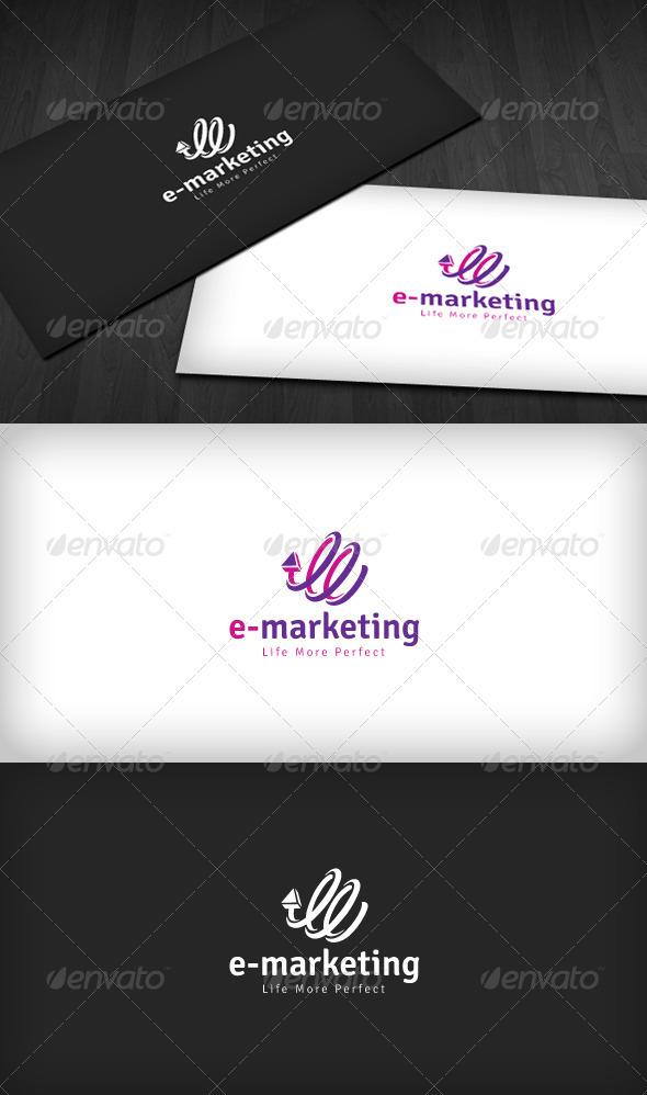 GraphicRiver E-Marketing Logo 1598593