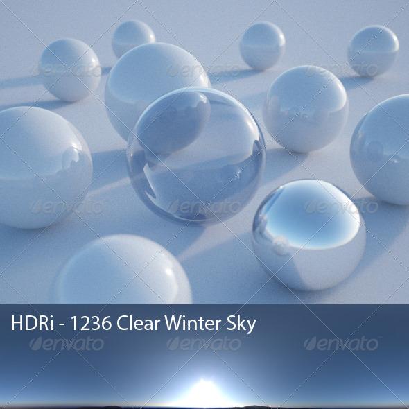 3DOcean HDRi 1236 Clear Winter Sky CG Textures -  HDRI Images  Exterior  Sky  Daylight 1598600