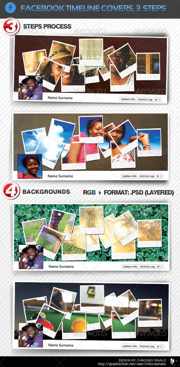 GraphicRiver Facebook Timeline Cover in 3 Steps 1382079