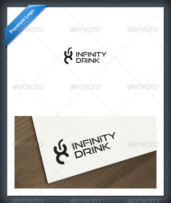 GraphicRiver Infinity Drink Logo Template 1602528