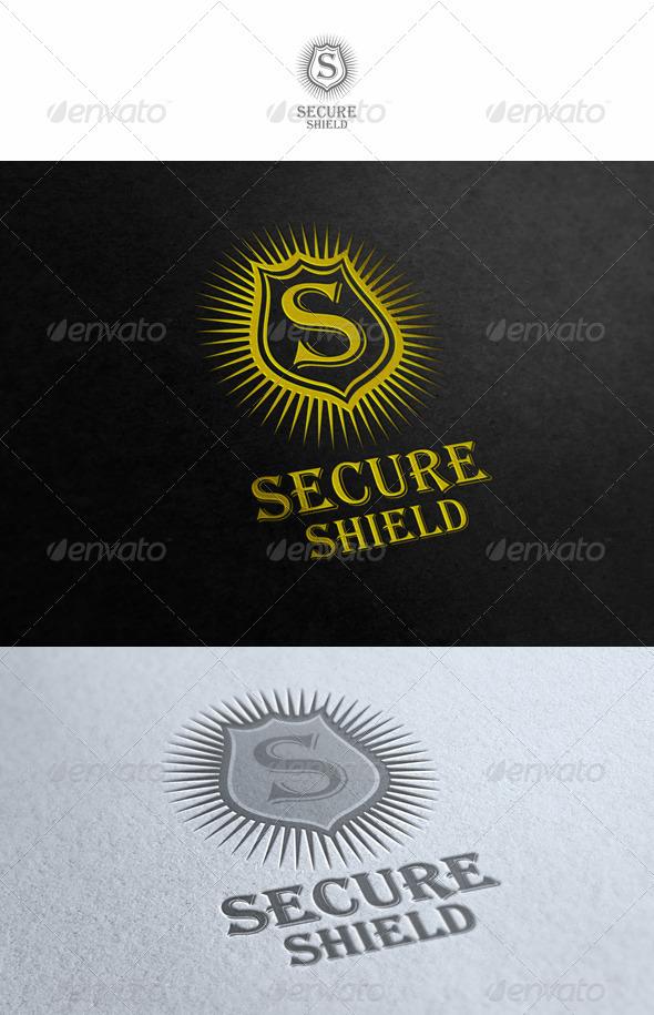GraphicRiver Secure Shield 1602887