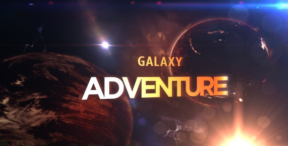 After Effects Project - VideoHive Galaxy Adventure 1548941