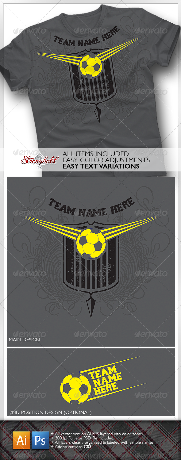 GraphicRiver Soccer Team Shirt 1603418