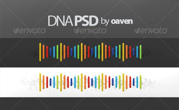 GraphicRiver DNA Graphic PSD 61981