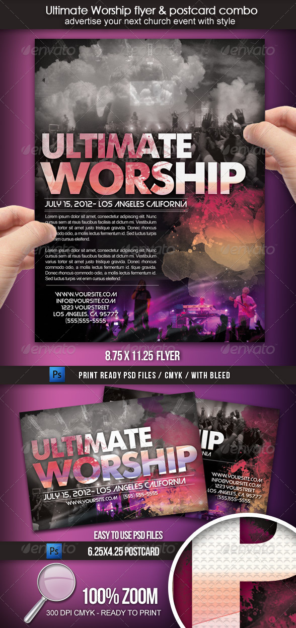 GraphicRiver Ultimate Worship Combo 1604556