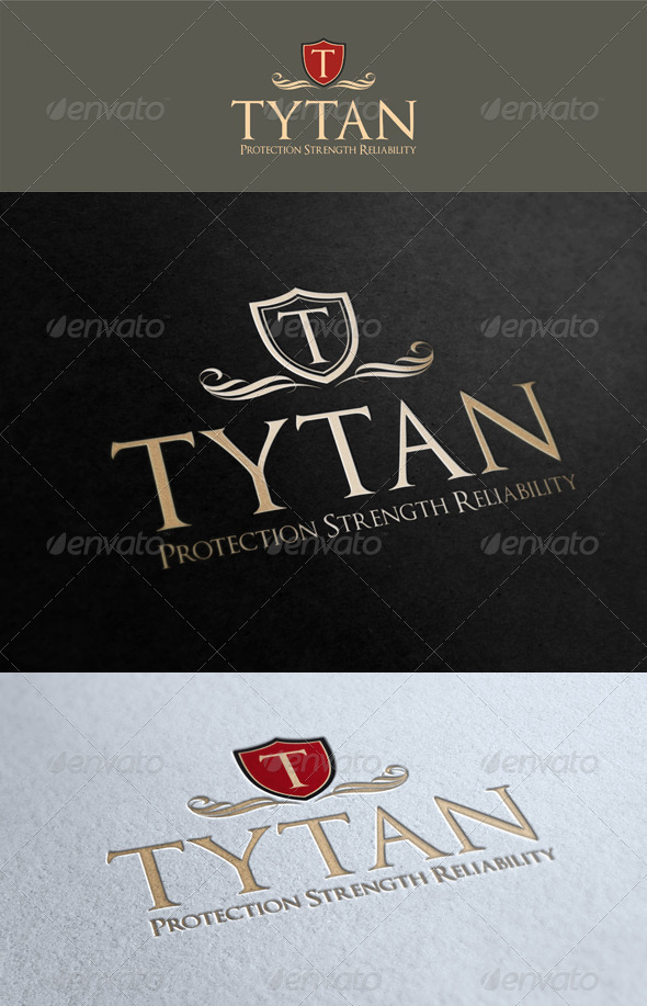 GraphicRiver Tytan Logo Template 1605830