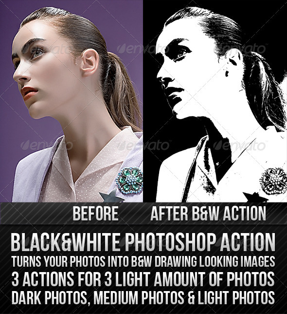 GraphicRiver Black & White Action 232045
