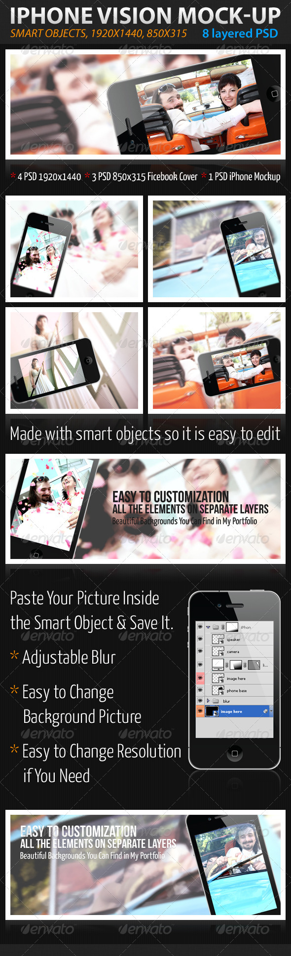 GraphicRiver iPhone Vision 1608000