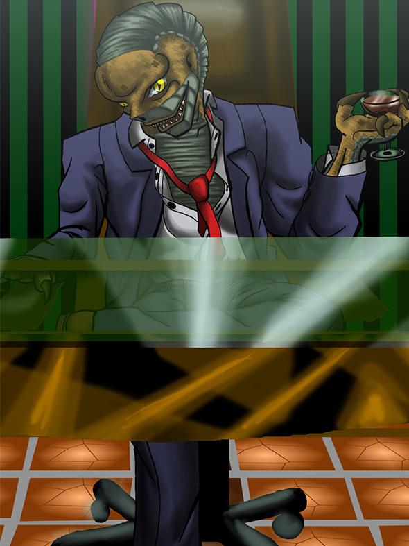 3DOcean Reptilian boss 2D Concepts -  Creatures 641786