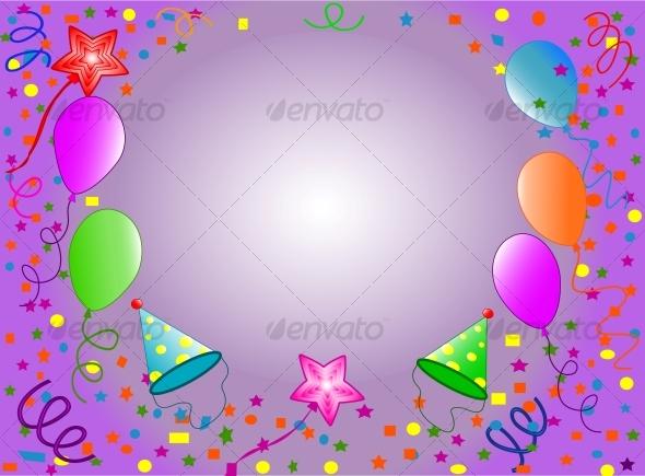 GraphicRiver Happy Birthday background 63083