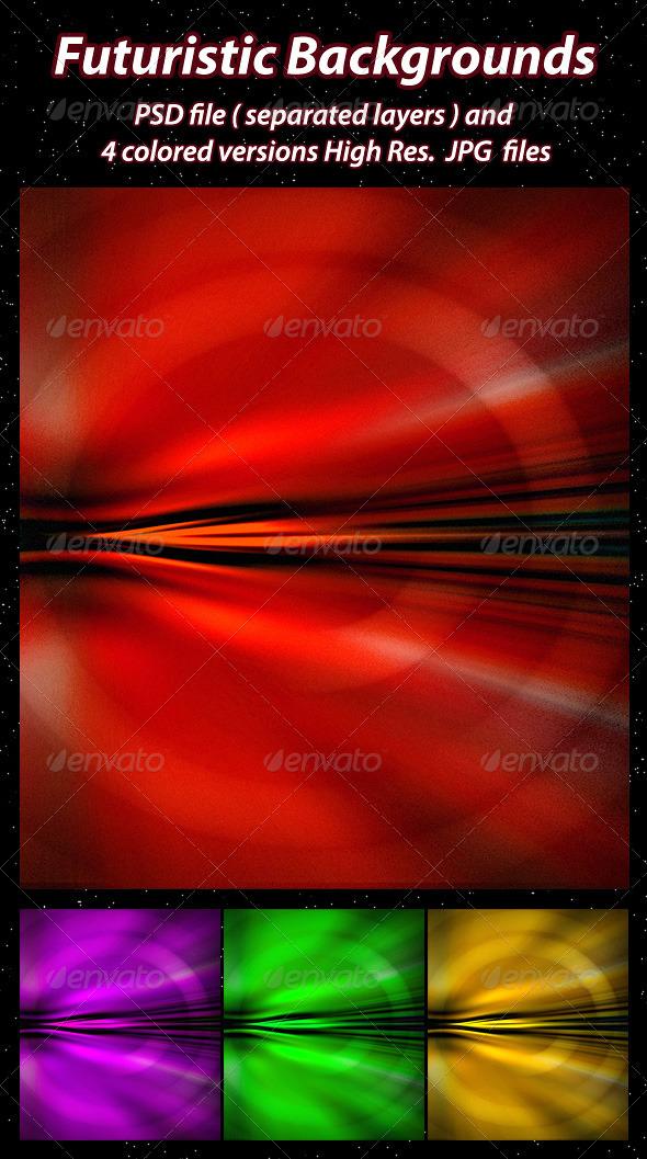 GraphicRiver Futuristic Backgrounds 1612664